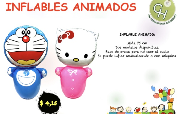 INFLABLES ANIMADOS