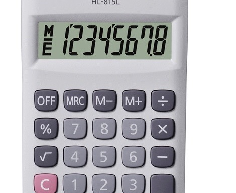 CALCULADORA CASIO 815L