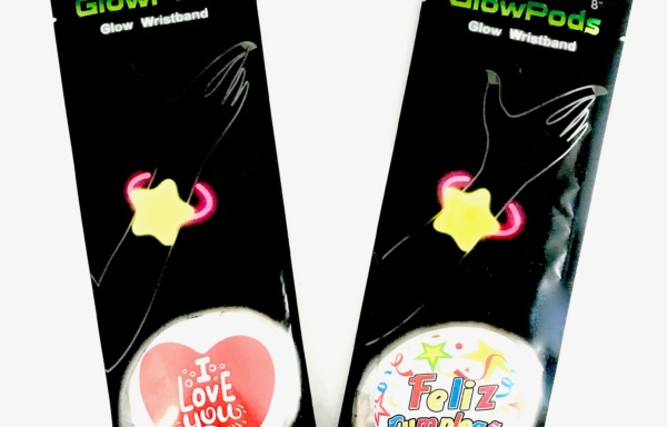 PULSERA GLOW STICKER