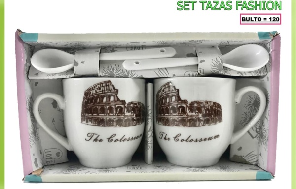 SET TAZAS FASHION